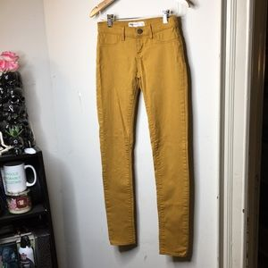RSQ Size 3R Mustard Yellow Jeans